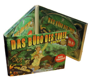 Das Büro des Todes - Der letzte Arbeitstag: Doppel-CD-Digipak